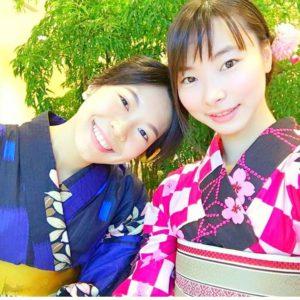 隅田川花火大会でご利用頂きましたお客様です。お写真を頂きました(^^)ありがとうございます\(^_^)/レトロモダンがお似合いです\(^_^)/