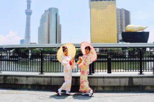台湾からお越しのお客様です💕。和服体験ありがとうございます💕とてもお似合いで可愛いです💗浅草観光楽しんで下さいね😊 來自台灣的客人,謝謝您體驗本店的和服,很適合您非常可愛唷,祝您們在淺草觀光愉快唷!