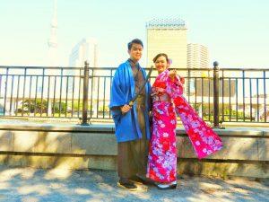 香港からのお客さまです。艶やかな振り袖をお選び頂きました。とても素敵ですね(^-^)v
