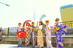 女子会で着物体験ありがとうございます(●^o^●)皆さん可愛いです。(^-^)v