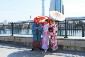 台湾からのお客さまです。
