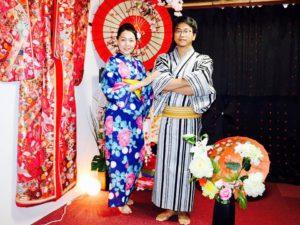 台湾からお越しのお客様です。日本のの夏浴衣をお選び頂きました。👘浅草観光楽しんで下さいね😊 來自台灣的客人,兩位都選了日本傳統夏天的浴衣,祝兩位前淺草玩得愉快。😊