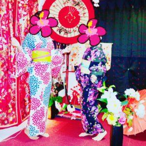 マカオからお越しのお客様です。日本の夏らしい浴衣をお選び頂きました。 來自澳門的客人,穿了非常日本夏天感覺浴衣唷~很可愛很適合兩位~ 7月29日(土) 隅田川花火大会🎆