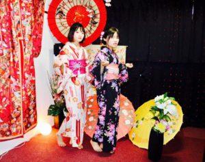 台湾からお越しのお客様です。可愛らしい矢羽に、ピンクの花柄の浴衣をお選び頂きました👘✨✨とてもお似合いで可愛いですね😍💕#浅草観光楽しんで下さいね🎵 來自台灣的客人,選了可愛的箭矢花紋以及粉色花紋的浴衣,非常適合兩位。祝兩位在淺草玩得開心唷!!