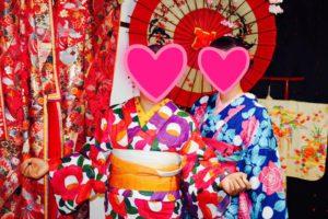 海外からお越しのお客様です。玉城ティナさんデザインの夏浴衣をお選び頂きました👘上品な着こなしがとてもお似合い素敵です💗浅草観光楽しんで下さいね(*^▽^*) 來自海外的客人,兩位都選了玉城Tina所設計的款式,非常豔麗活潑呢!祝兩位在淺草玩得開心❣️