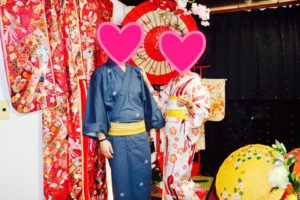 海外からお越しのお客様です💗和服体験ありがとうございます💕浅草観光楽しんで下さいね🎵 來自海外的客人,謝謝您們體驗日本傳統和服,祝您們在淺草觀光愉快!