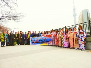 インドネシアからの団体28名のお客さまです。