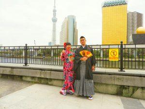 中国からのお客さまです。親子でご利用頂きました~お母様もとても素敵でお上品です????着物体験ありがとうございます(●^o^●)????