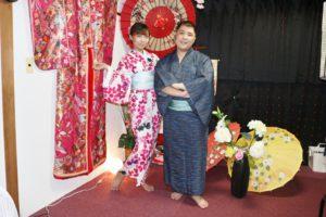 台湾からお越しのお客様です😊 #玉城ティナ さんデザインの浴衣をお選び頂きました👘 和服体験ありがとうございます💗 來自台灣的客人,選擇玉城TINA小姐設計的浴衣,謝謝您來體驗。