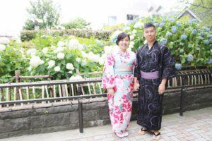 香港からお越しのお客様です💕 初めての和服体験でご利用頂きました👘 ピンクの花柄模様の可愛いお着物と男性は龍の和柄の浴衣で浅草観光です💕日本旅行楽しんで下さいね✈️ 來自香港的客人,第一次體驗和服,粉色的可愛花樣及男生穿著龍的花樣一起逛淺草,祝您們玩得愉快
