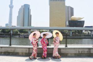台湾からお越しのお客様です💕艶やかな浴衣を皆様お選び頂きました👘 とてもお似合いで素敵です😊 和服体験ありがとうございます👘 來自台灣的客人們,選擇華麗又可愛的浴衣體驗,非常可愛適合您們喔!謝謝你們的體驗!