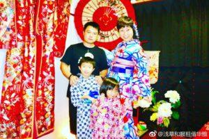 香港からのお客様です💕ご家族で記念撮影です👘とても可愛らしいですね💕玉城ティナさんデザインの浴衣でお選び頂きました。ありがとうございます😊 來自香港的客人,家人一起在本店拍照留念,非常可愛的小朋友呢!也選擇玉城Tina 小姐設計的浴衣款,非常適合您喔!謝謝你們!