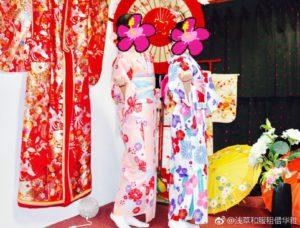 台湾からお越しのお客様です。可愛い和服をお選び頂きました。🍁ありがとうございます👘😊 來自台灣的客人們,選擇可愛的和服體驗,謝謝您們