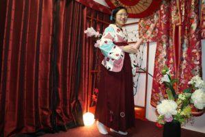 很棒的袴的體驗,日本人畢業典禮才會穿的!