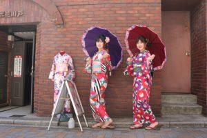 #可愛い#浴衣で#女子会、#浅草#散策を#楽しんでくださいね。