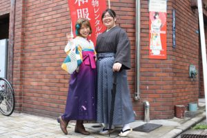 #袴#卒業式ご出席で袴をご利用いただきました。伝統的な袴は素敵!