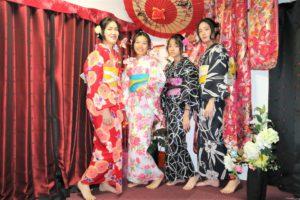 台湾から浴衣で女子会!