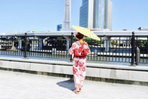 香港からお越しのお客様です😊 当店人気の可愛らしい浴衣をお選び頂き浅草観光にお出掛けです(*^▽^*) 楽しんできて下さいね😊💗 來自香港的客人,選擇本店人氣最高的可愛浴衣體驗,祝您們淺草逛的愉快喔!