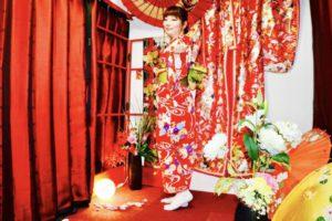 当日プランをご利用のお客様です❤️ 人気の赤い和柄のお着物で浅草散策にお出掛けです(*^◯^*)✨✨ とてもお似合いで可愛いです❣️❣️ 楽しんで下さいね🎵