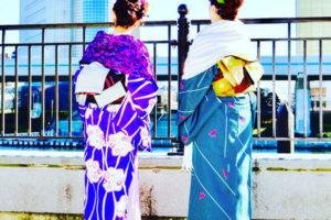 日本伝統柄をお選び頂きました💕女子会でアンチエージングです❣️❣️❣️楽しんで👘沢山記念撮影して下さいね🎵🎀        選擇日本傳統花紋的和服體驗,女子會希望能為妳留下美好回憶!祝您玩的開心❤️