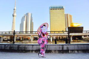台湾からお越しのお客様です💕  当日プランをご利用でカジュアル振袖をお選び頂きました(*^◯^*)紫の艶やかなお着物がお似合いで素敵です👘✨和服体験ありがとうございます😊   來自台灣的客人,今天來體驗振袖喔!選擇紫色系鮮豔的款式,非常適合您喔!謝謝您來體驗!!!