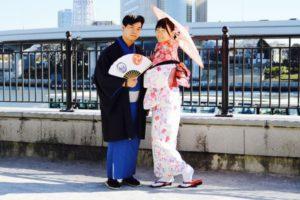 台湾からお越しのお客様です💕当日プランをご利用頂き浅草観光にお出掛けです(*^^*)初めての和服体験ありがとうございます😊日本旅行楽しんで下さいね❣️  來自台灣的客人們,當天來本店體驗準備在淺草觀光喔!謝謝您們來體驗和服,祝您們旅遊愉快