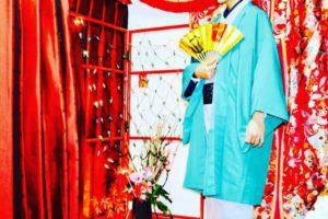 初詣に⛩浅草浅草寺に和服でお出掛け頂きました。店内で記念にお写真をお撮りしてます。