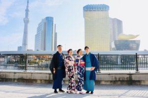 香港來的客人,很藍色系很適合你們呢!