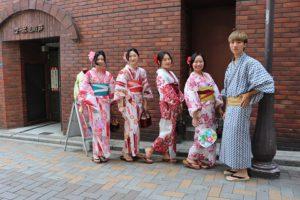 來自澳洲.台灣.韓國的客人,暑期來日本交換學生!