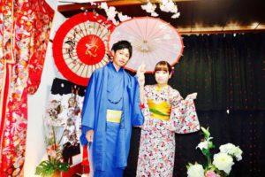 桜お花見に着物デートでご利用頂きました。ありがとうございます^_^とても素敵です。 客人選擇了櫻花花紋的和服,非常適合穿去約會,很可愛很適合您,祝福您們在淺草觀光愉快。