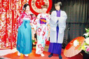 台湾からお越しのお客様です。伝統的なお着物をお選び頂きました。皆様それぞれお似合いで素敵です😊浅草観光楽しんで下さいね(*^▽^*) 來自台灣的客人,客人選擇了傳統的和服,非常可愛很適合各位唷!!謝謝您們並祝福您們在淺草觀光愉快。