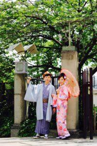 台湾からお越しのお客様です。着物体験ありがとうございます^_^和服がお似合いで可愛いです❤️浅草観光楽しんで下さいね。 來自台灣的客人,粉色系的和服跟您非常搭,超好看的💕謝謝您們體驗本店的和服,並祝福您們在淺草觀光愉快!