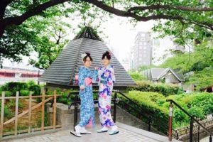 香港からお越しのお客様です^_^日本の和服体験ありがとうございます、とてもお似合いで可愛いです❤️浅草観光楽しんで下さいね😊 來自香港的客人,謝謝您們體驗本店日本傳統和服,非常可愛活潑,很適合您們兩位!😍祝福您們淺草觀光愉快。