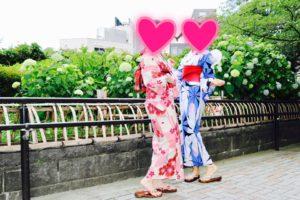 浴衣限定キャンペーンプランご利用のお客様です(*^▽^*) 艶やかな浴衣をお選び頂きました、とてもお似合いで素敵です💕浅草観光楽しんで下さいね💕 本店限定的客人,選擇了紅色以及藍色豔麗的浴衣,兩位搭配起來非常好看,祝您們在淺草玩得開心~! プラン詳細はこちらから💁出租方案在以下連結 https://asakusa-hanaka.com/plans/
