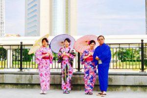 台湾からご家族でお越しのお客様です💕皆様それぞれお似合いで素敵です^_^日本旅行楽しんで下さいね✈️ 來自台灣的一家人,大家選的和服超可愛的~謝謝您們~祝在日本玩得愉快唷💕