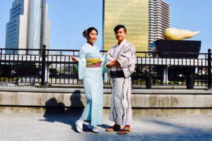 台湾からお越しのお客様です。お時間の無い中、和服体験ありがとうございます😊浅草観光楽しんで下さいね 來自台灣的客人,謝謝您在百忙之中體驗本店的和服,祝您在淺草玩得愉快~