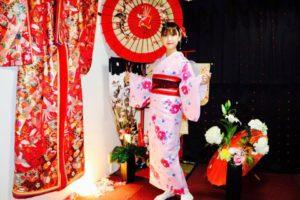 香港からお越しのお客様です💕可愛い着物をお選び頂きました👘とてもお似合いで素敵です(*^▽^*)浅草観光楽しんで下さいね。 來自香港的客人,選擇了可愛粉色系和服,非常適合您,祝您在淺草玩得愉快。