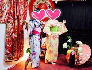香港からお越しのお客様です💕 お二人共花柄の浴衣を上品に着こなして頂きました👘 和服体験ありがとうございます😊 浅草観光楽しんで下さいね(*^▽^*) 來自香港的客人,兩人都穿著花朵圖案的浴衣,謝謝您們唷!祝您們在淺草觀光愉快!😊😍