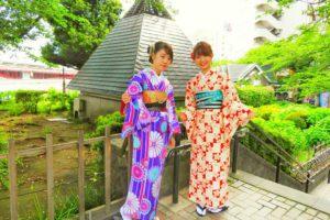 艶やかなお着物がとても可愛いですね(*^▽^)/★*☆♪着物体験ありがとうございます