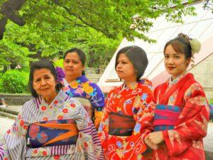 フィリピンからのお客さまです。御家族で着物体験して、頂きました\(^-^)/ありがとうございます(●^o^●)