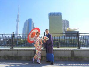 香港からのお客様です。初めての着物体験ありがとうございます(^^)/手ずくりのアクセサリーが、お着物とあってました。\(^-^)/ありがとうございます★ 香港來的客人,兩位都選擇了和服体験,並且帶來了自己親手製作的頭飾,和服超級相配哦!希望初次的和服體驗給你們帶來美好的回憶