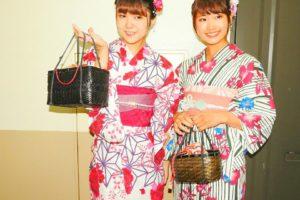 撮影でご利用頂いたモデルさんです!赤ピンクの可愛いい浴衣がお似合いです!(*^^*)
