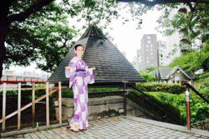 イタリアからお越しのお客様です💗 紫色の市松模様の浴衣をお選び頂きました!とてもお似合いで素敵です💗和服体験ありがとうございます👘 來自義大利的客人,選了紫色市松圖案的浴衣,非常好看呢~謝謝您~祝您在日本玩得愉快。