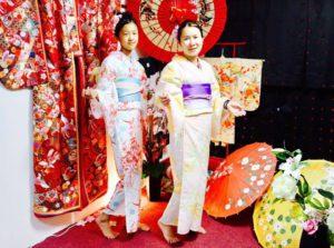 海外からお越しのお客様です💕和服体験ありがとう👘お時間の無い中でのご利用です。 來自海外的客人,謝謝您在百忙之中體驗日本浴衣唷~👘