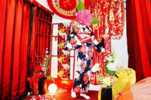 海外からお越しのお客様です😊#伝統的 な梅模様のお #着物 をお選び頂きました。#浅草観光 楽しんで下さいね🎵👘✨✨✨ 來自海外的客人,選擇傳統梅花花紋的和服體驗,祝您在淺草逛的開心❤️