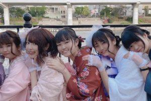 可愛らしい着物女子7名画像