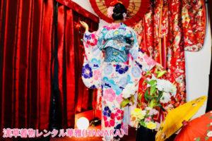 #新柄 の可愛い #お着物 をお選びになりました👘 #ヘアースタイル も #シニヨン で伝統的で素敵ですね❗️❗️