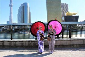 マレーシア 和服体験 写真