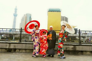 香港からのお客さまです。