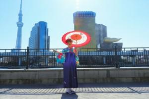 ご卒業おめでとうございます\(^o^)/市松模様のお着物と袴がとてもお似合いです????